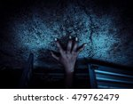 hands of devil try to get out... | Shutterstock . vector #479762479