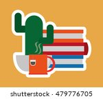books office related items icon   Shutterstock .eps vector #479776705