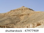 """The valley of old kings near """"Luxor"""" in Egypt - stock photo"""