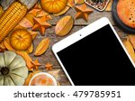 thanksgiving day decoration for ... | Shutterstock . vector #479785951