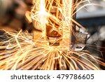 spot welding machine industrial ... | Shutterstock . vector #479786605