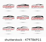 set of modern car logo design... | Shutterstock .eps vector #479786911
