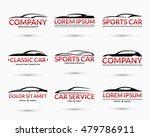 set of modern car logo design... | Shutterstock .eps vector #479786911