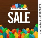 sale poster with percent...   Shutterstock .eps vector #479800474