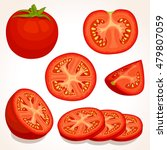 Set Of Different Tomatoes...