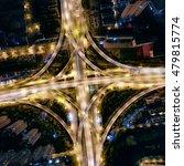 night viaduct | Shutterstock . vector #479815774
