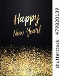 happy new year card with... | Shutterstock .eps vector #479820139