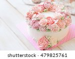 Gorgeous Cake Covered In Roses...