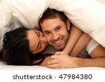 couple in bed   Shutterstock . vector #47984380