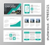 set of turquoise and gray... | Shutterstock .eps vector #479853121