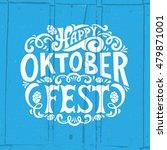 oktoberfest logotype. beer... | Shutterstock .eps vector #479871001