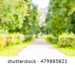 city park alley bokeh as... | Shutterstock . vector #479885821