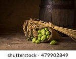 Beer Brewing Ingredients Hop I...