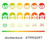 feedback rate emoticon icon set.... | Shutterstock .eps vector #479903497