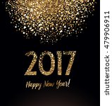 new year card with glittering... | Shutterstock .eps vector #479906911