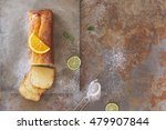 sicilian orange cake with... | Shutterstock . vector #479907844