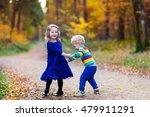 happy children playing in... | Shutterstock . vector #479911291