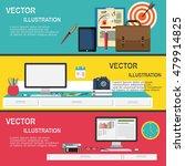 flat modern design concept for... | Shutterstock .eps vector #479914825