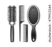 vector set of black plastic...   Shutterstock .eps vector #479915164