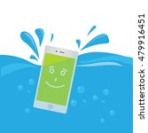 phone waterproof flat... | Shutterstock .eps vector #479916451