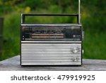 old fashioned soviet radio | Shutterstock . vector #479919925