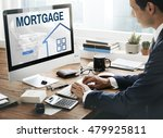 mortgage property login page... | Shutterstock . vector #479925811