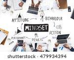 mindset belief discipline... | Shutterstock . vector #479934394