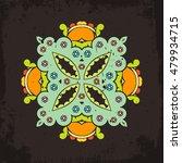 vector mandala. mehndi lace...   Shutterstock .eps vector #479934715