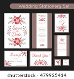 set of invitations templates ... | Shutterstock .eps vector #479935414