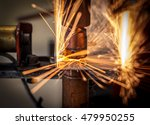 spot welding machine industrial ... | Shutterstock . vector #479950255