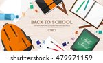 back to school. vector... | Shutterstock .eps vector #479971159
