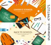back to school. vector... | Shutterstock .eps vector #479971171