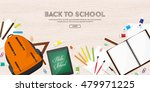 back to school. vector... | Shutterstock .eps vector #479971225