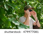 young guy in sunglasses... | Shutterstock . vector #479977081