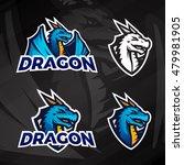creative dragon logo concept....   Shutterstock .eps vector #479981905