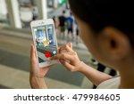 hong kong  china  august 8 ... | Shutterstock . vector #479984605