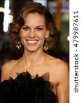 Small photo of Hilary Swank at the World premiere of 'P.S. I Love You' held at the Grauman's Chinese Theater in Hollywood, USA on December 9, 2007.