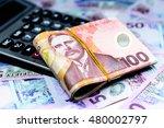 new zealand dollar and... | Shutterstock . vector #480002797