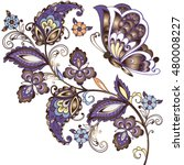 elegant vector background with  ...   Shutterstock .eps vector #480008227