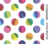 seamless pattern with color...   Shutterstock .eps vector #480008314