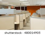 empty cubicles inside office... | Shutterstock . vector #480014905