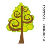 tree plant natural isolated...   Shutterstock .eps vector #480022021