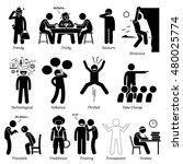 neutral personalities character ... | Shutterstock .eps vector #480025774