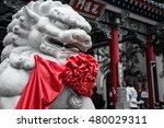 Singha Stone statue Chinese
