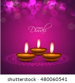happy diwali illustration ... | Shutterstock .eps vector #480060541