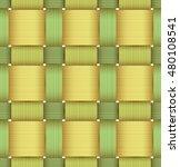 bright plastic basketwork.... | Shutterstock .eps vector #480108541
