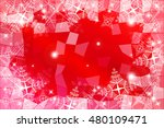 vivid red illustration on a... | Shutterstock .eps vector #480109471