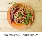 papaya salad thailand food call ... | Shutterstock . vector #480123469