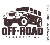 off road competition emblem... | Shutterstock .eps vector #480127771