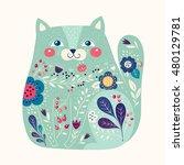 art vector colorful... | Shutterstock .eps vector #480129781